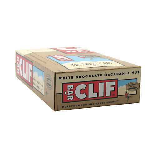Clif Bar Bar Energy Bar - White Chocolate Macadamia Nut - 12 ea - 722252361097