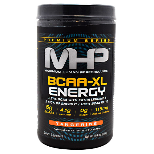 MHP Premium Series BCAA-XL Energy - Tangerine - 30 Servings - 666222096759