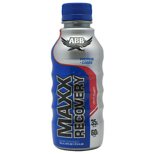 ABB Maxx Recovery - Fruit Punch - 12 Bottles - 00045529888623