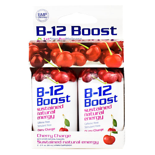 High Performance Fitness B12 Boost - Cherry Charge - 2 Bottles - 673131100194