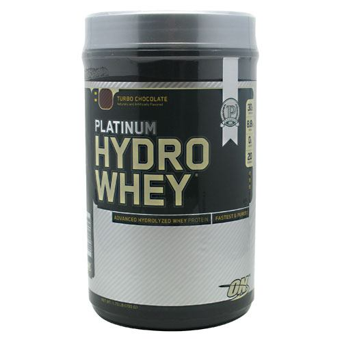 Optimum Nutrition Platinum Hydrowhey - Turbo Chocolate - 1.75 lb - 748927026429
