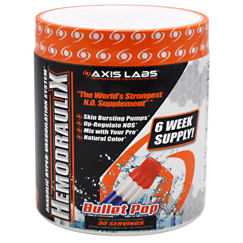 Axis Labs Marquis Series Hemodraulix - Bullet Pop - 30 Servings - 735548390893