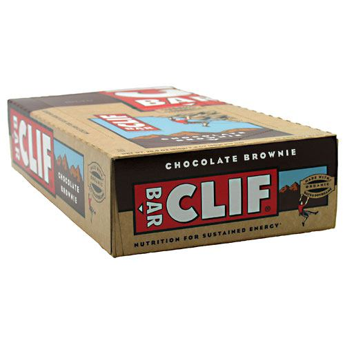 Clif Bar Bar Energy Bar - Chocolate Brownie - 12 Bars - 722252301802
