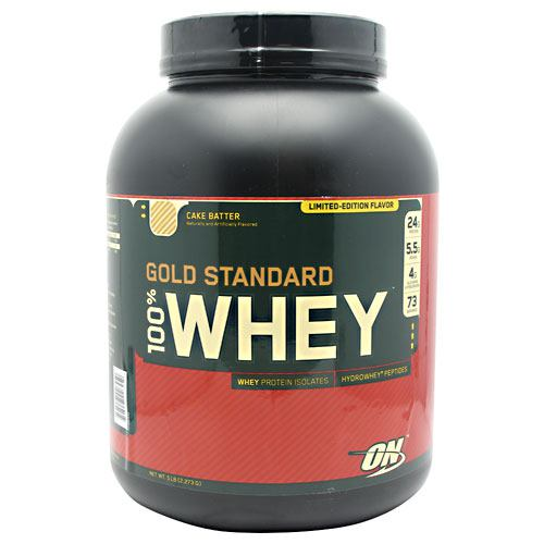 Optimum Nutrition Gold Standard 100% Whey - Cake Batter - 5 lb - 748927026450