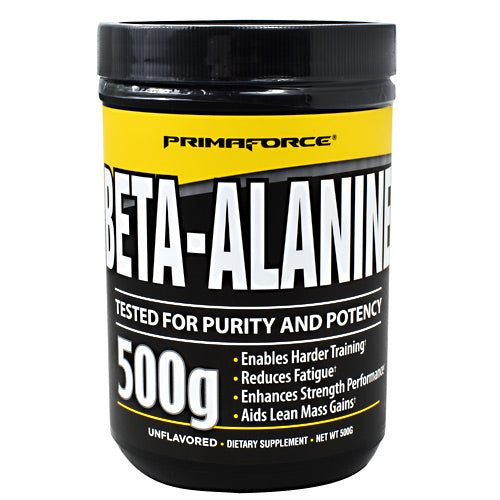 Primaforce Beta-Alanine - Unflavored - 250 Servings - 811445020740