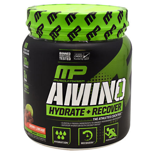 MusclePharm Sport Series Amino 1 - Cherry Limeade - 30 Servings - 653341046413