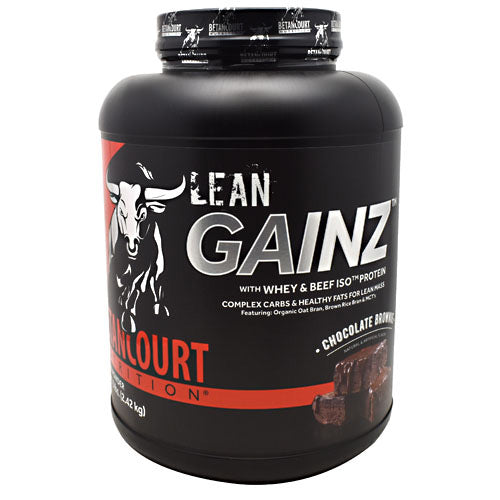 Betancourt Nutrition Lean Gainz - Chocolate Brownie - 5 lb - 857487005314