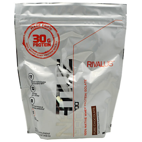 Rivalus Rivalus Native Pro 100 - Pure Chocolate - 15.4 oz - 807156002441