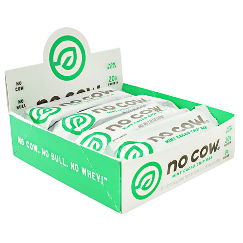 Ds Naturals No Cow Bar - Mint Cacao Chip - 12 Bars - 852346005061