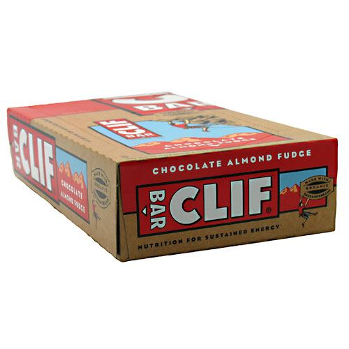 Clif Bar Bar Energy Bar - Chocolate Almond Fudge - 12 Bars - 722252301604