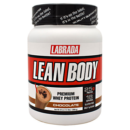 Labrada Nutrition Lean Body - Chocolate - 18 Servings - 710779560413