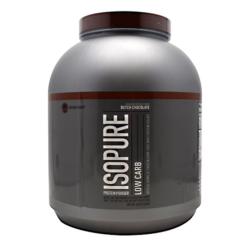 Natures Best Low Carb Isopure - Dutch Chocolate - 4.5 lb - 089094022952