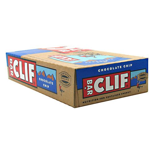 Clif Bar Bar Energy Bar - Chocolate Chip - 12 ea - 722252300904