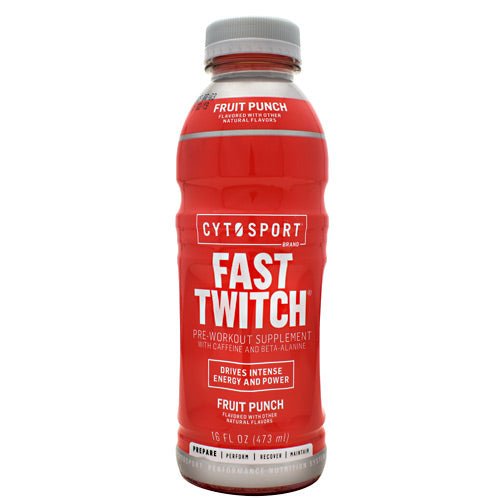 Cytosport Fast Twitch - Fruit Punch - 12 Bottles - 00876063816243
