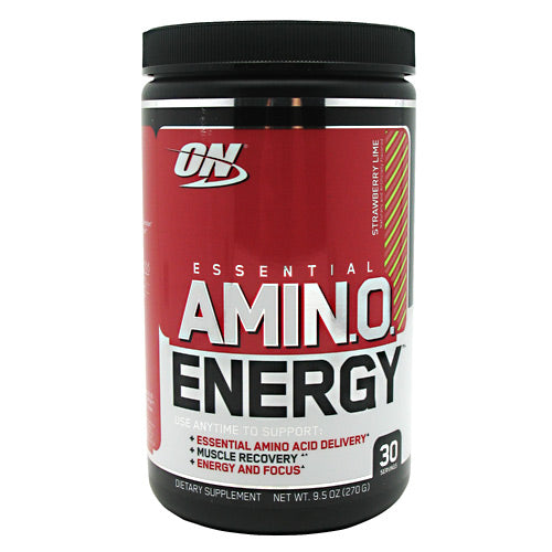 Optimum Nutrition Essential Amino Energy - Strawberry Lime - 30 Servings - 748927051698