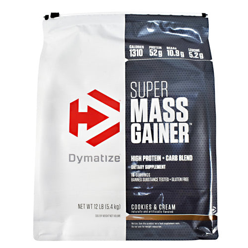 Dymatize Super Mass Gainer - Cookies & Cream - 12 lb - 705016331468