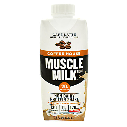 Cytosport Coffee House Muscle Milk RTD - Cafe Latte - 12 ea - 00876063006477