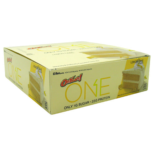 ISS Research One Bar - Lemon Cake - 12 Bars - 788434108553
