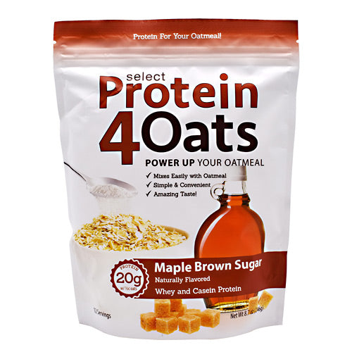 PEScience Select Protein4Oats - Maple Brown Sugar - 12 Servings - 040232426421