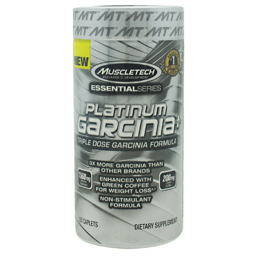 Muscletech Essential Series Platinum Garcinia Plus - 120 Caplets - 631656604719