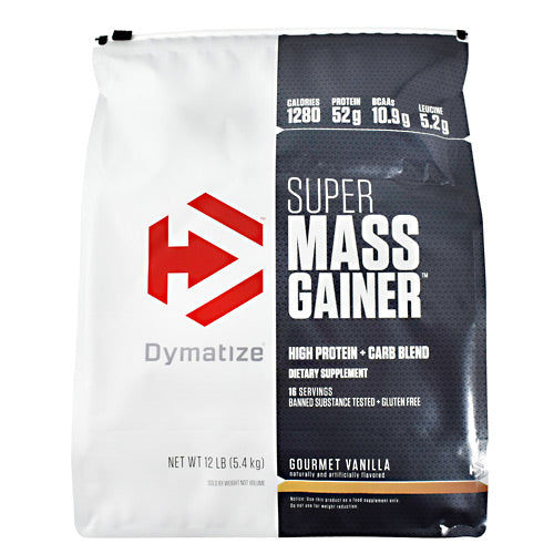 Dymatize Super Mass Gainer - Vanilla - 12 lb - 705016331505
