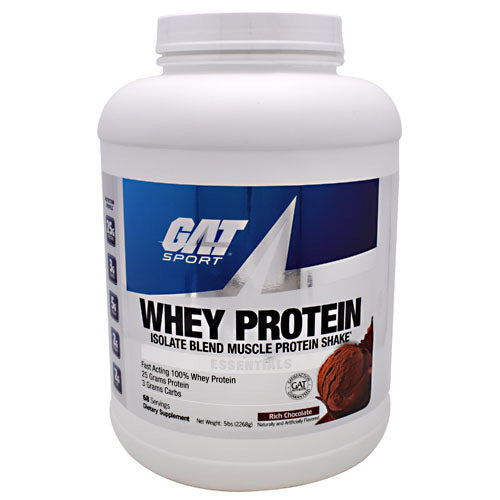 GAT Whey Protein - Chocolate - 68 Servings - 816170020881
