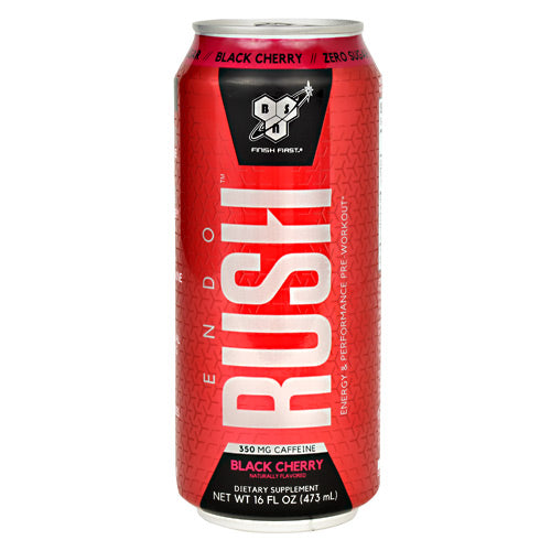 BSN EndoRush RTD - Black Cherry - 12 Cans - 60834266008478