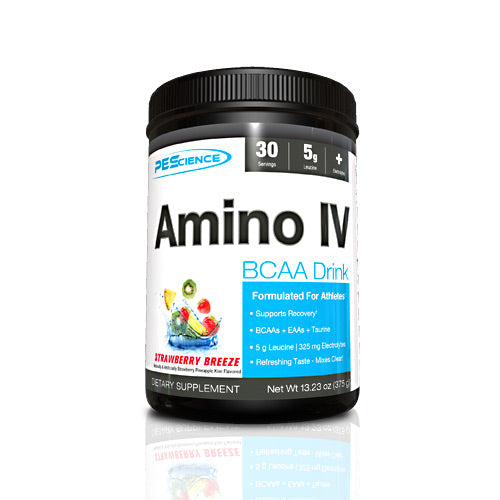 PEScience Amino IV - Strawberry Breeze - 30 Servings - 040232199684