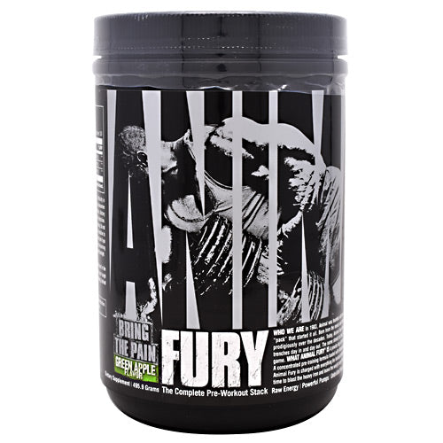 Universal Nutrition Animal Fury - Green Apple - 30 Servings - 039442032683