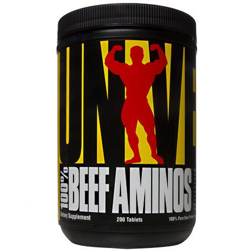Universal Nutrition 100% Beef Aminos - 200 Tablets - 039442010650