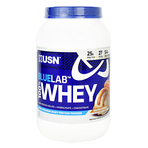 Usn Blue Lab 100% Whey - Salted Caramel - 2 lb - 6009544910268