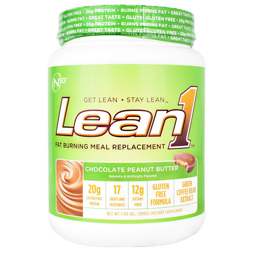 Nutrition 53 Lean1 - Chocolate Peanut Butter - 15 Servings - 810033011603