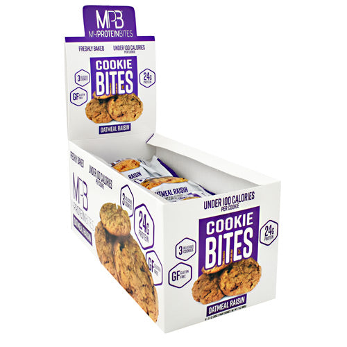 My Protein Bites Cookie Bites - Oatmeal Raisin - 8 ea - 855597007310