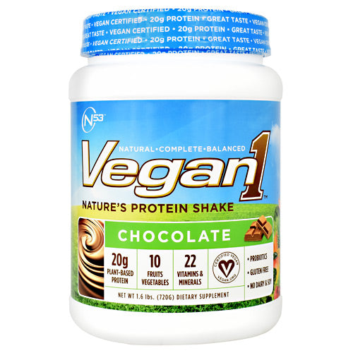 Nutrition 53 Vegan1 - Chocolate - 15 Servings - 810033011467