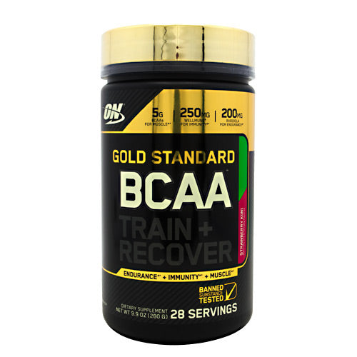 Optimum Nutrition Gold Standard BCAA - Strawberry Kiwi - 28 Servings - 748927054712