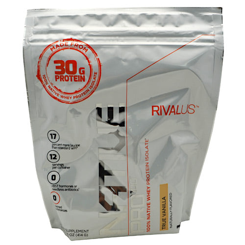 Rivalus Rivalus Native Pro 100 - True Vanilla - 14.6 oz - 807156002458