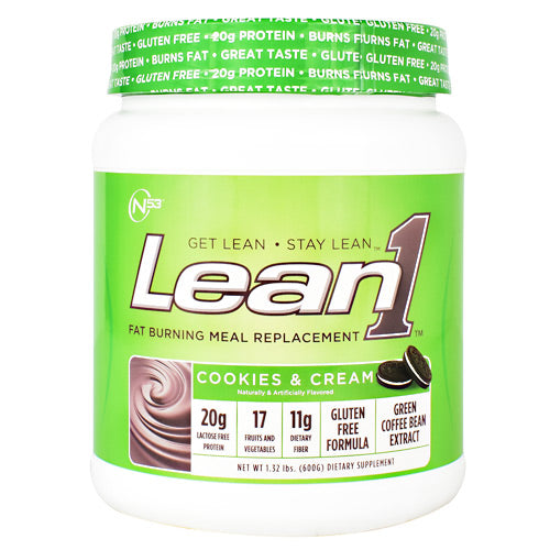 Nutrition 53 Lean1 - Cookies & Cream - 10 Servings - 810033011153