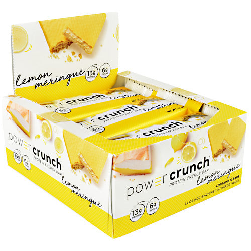 Power Crunch Power Crunch - Lemon Meringue - 12 Bars - 644225726118