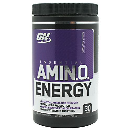 Optimum Nutrition Essential Amino Energy - Concord Grape - 30 Servings - 748927026658
