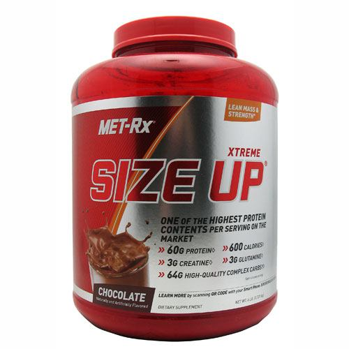 Met-Rx USA Size Up - Chocolate - 6 lb - 786560158282