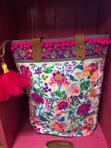 Colourful floral Boho Bag