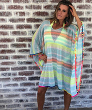 Bright Coloured Beach Cover up
