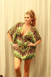 Printed Short Kaftan