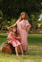 Dusty Pink Ethereal Kaftan