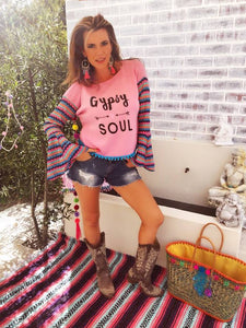 Gypsy Soul Long Top