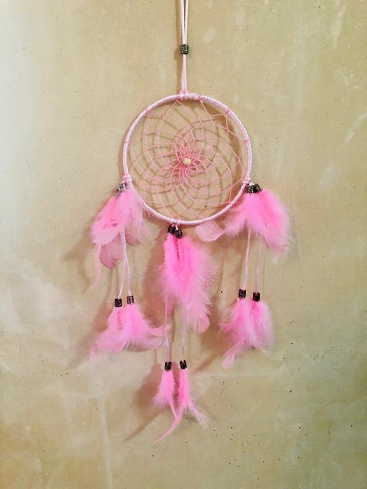 Pretty Pink Dream catcher