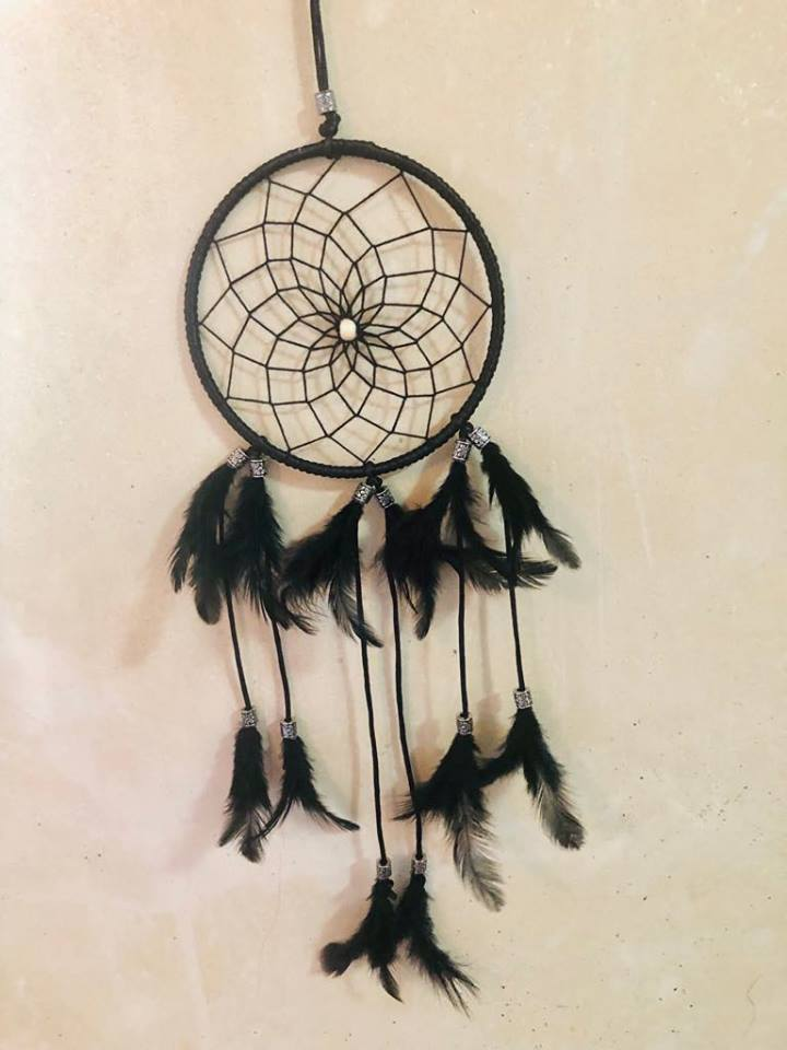 Black feather Dream catcher