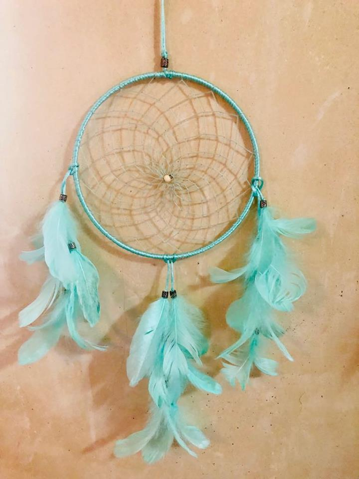 Teal Green Dream catcher