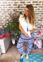 Printed slouch pants