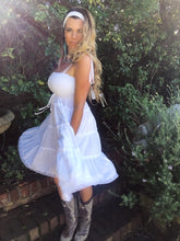 White Swing  Boho Dress